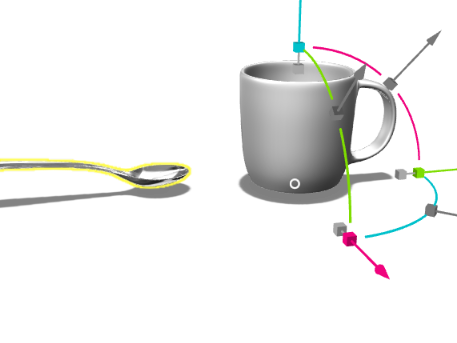 Cup and spoon - 3D design by Laura Jeffcoat Jul 20, 2017