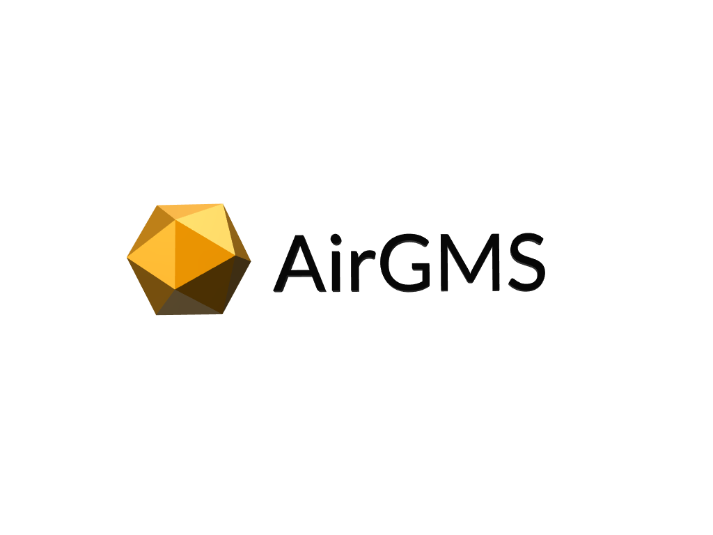 AirGMS 3D Logotype - 3D design by Egor Stremousov on Mar 3, 2018