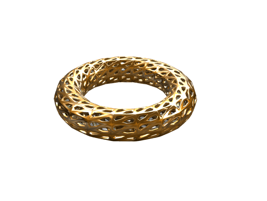 Power Ring  - 3D design by Hardik Prajapati  Apr 23, 2017