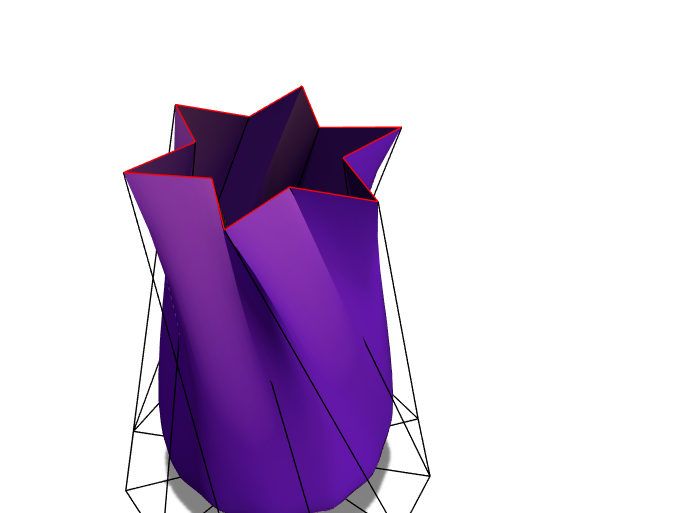 star vase - 3D design by Audrey N Joshua Mendez Feb 27, 2018