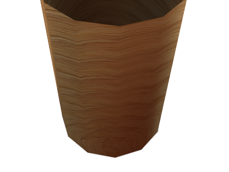 Wooden Cup - 3D design by kroberts May 9, 2018