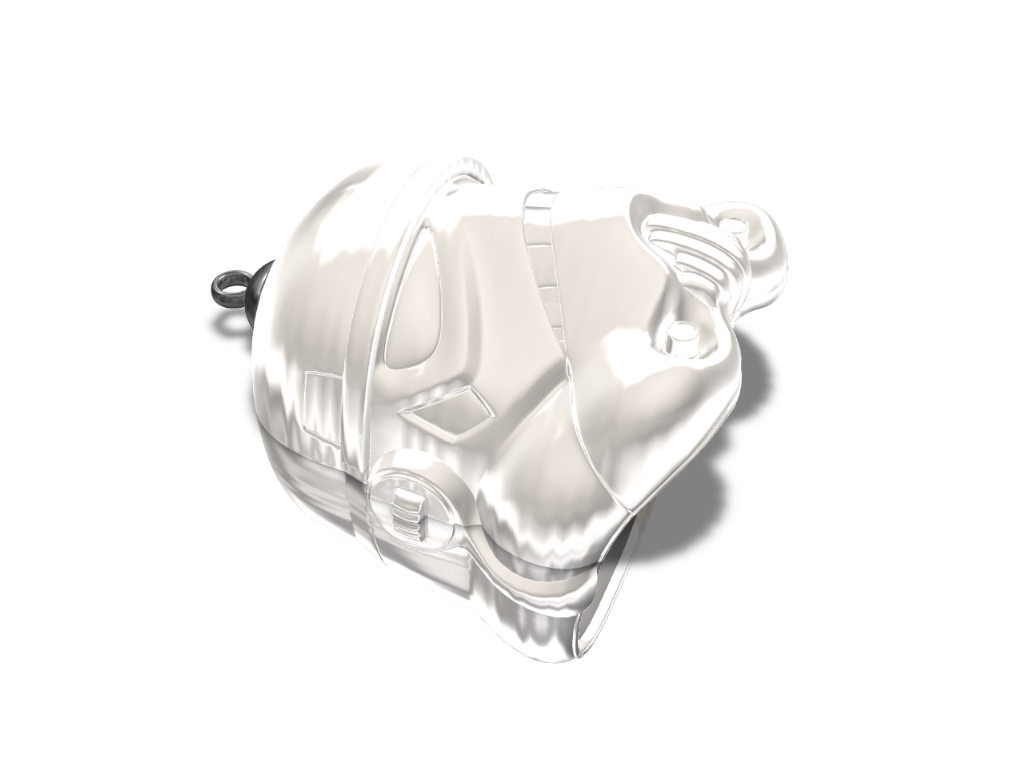 StormTrooper Pendant - 3D design by Omni-Moulage on Aug 29, 2017