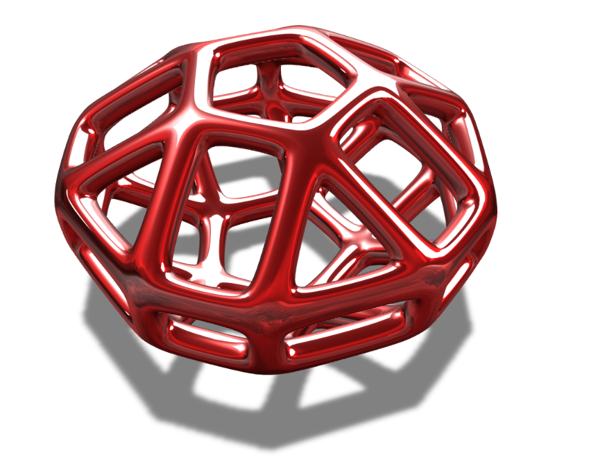Pentagonal Pendant - 3D design by Joey Bevilacqua on Sep 17, 2017