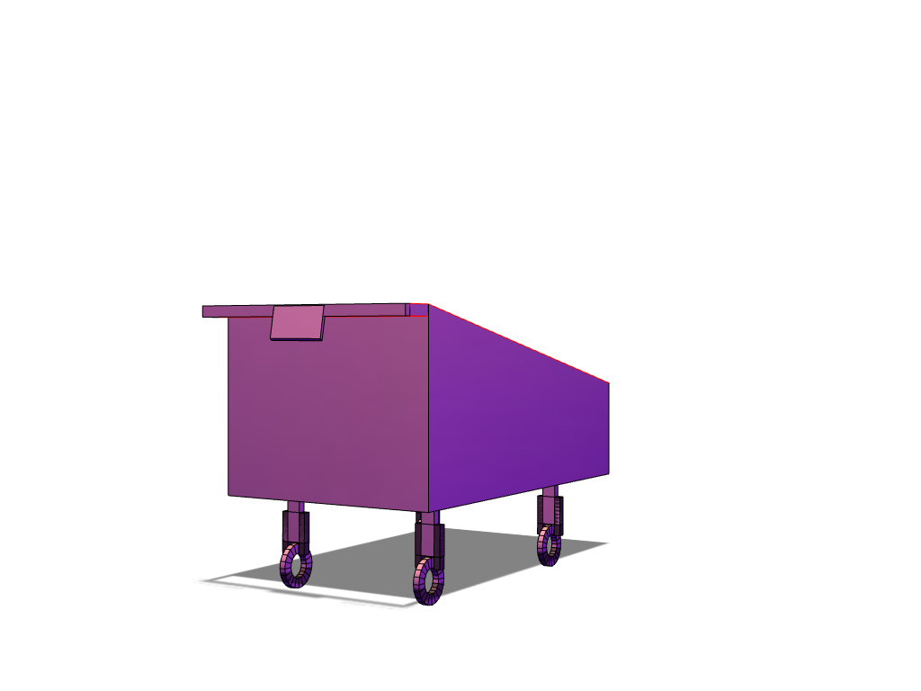 trolley prototype - 3D design by 0114422 Sep 19, 2017