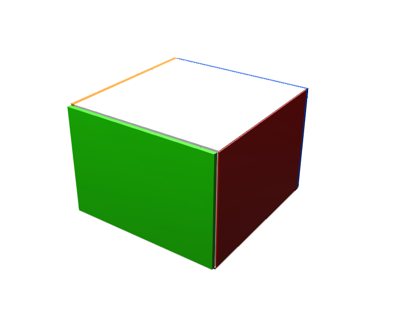 Rubik's cube - 3D design by nighttthing Nov 27, 2017