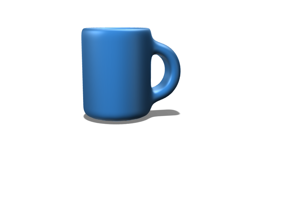 Simple Mug Thats Blue - 3D design by caudlza Sep 22, 2017