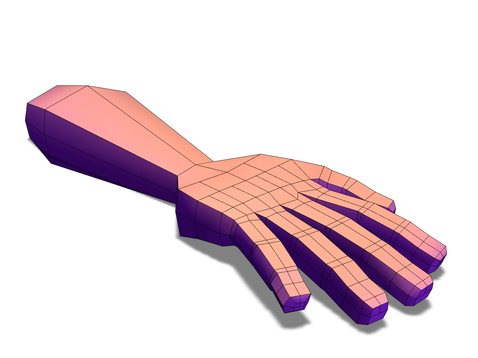 Human arm - 3D design by phillipsalf on Dec 27, 2017