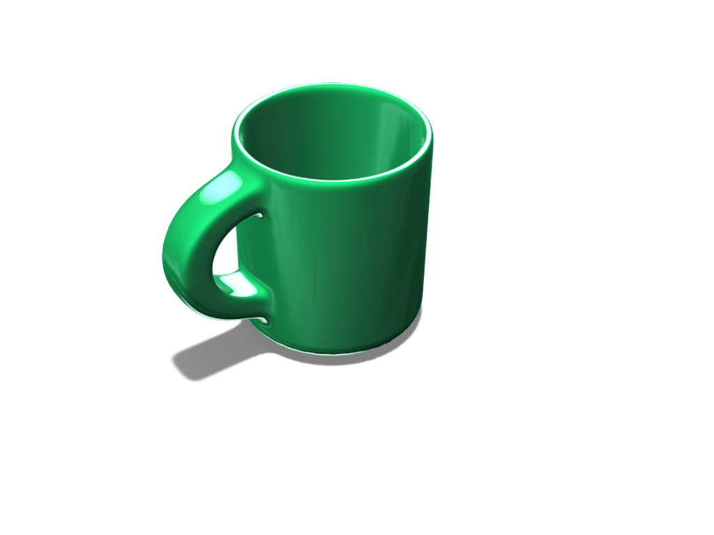 Simple Mug - 3D design by Phil Smith Sep 19, 2017