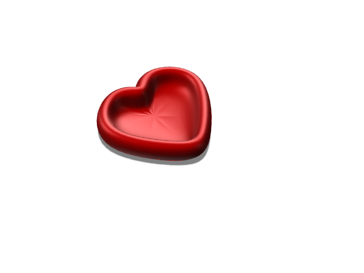 Heart Bowl - 3D design by jigarcia11 May 8, 2018
