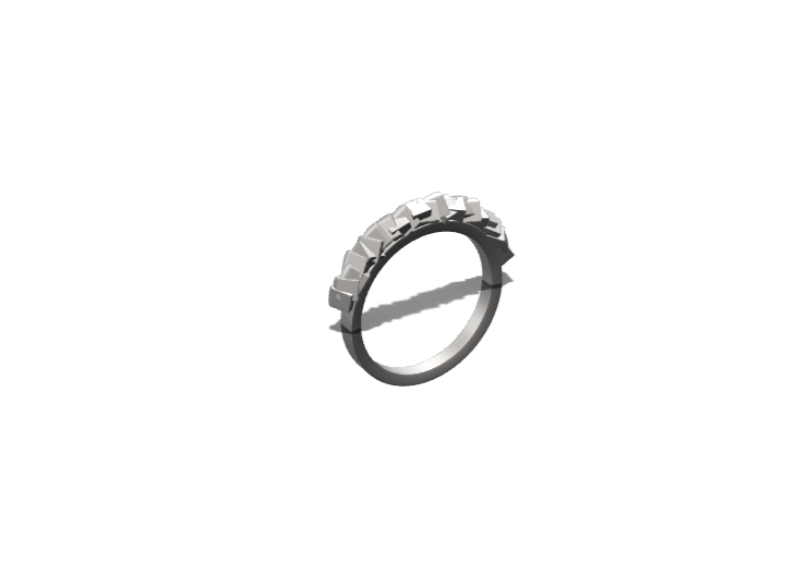 ring - 3D design by Léanne Dupont Feb 14, 2018
