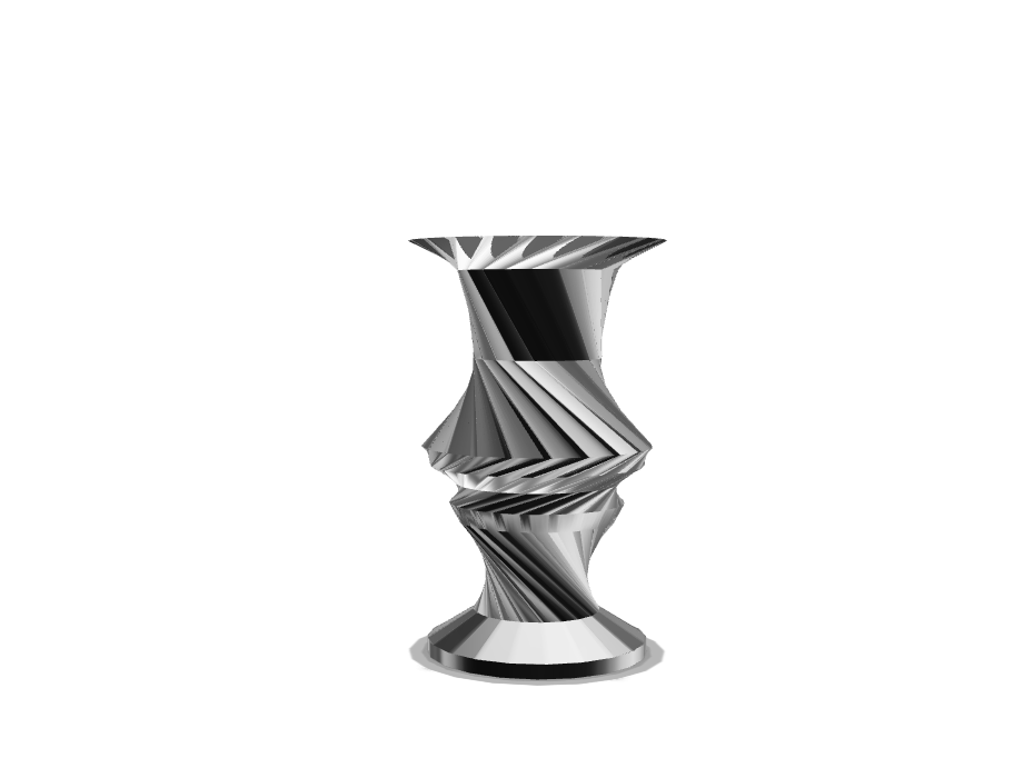 Basic Vase - 3D design by Haz-Azel on Aug 22, 2017
