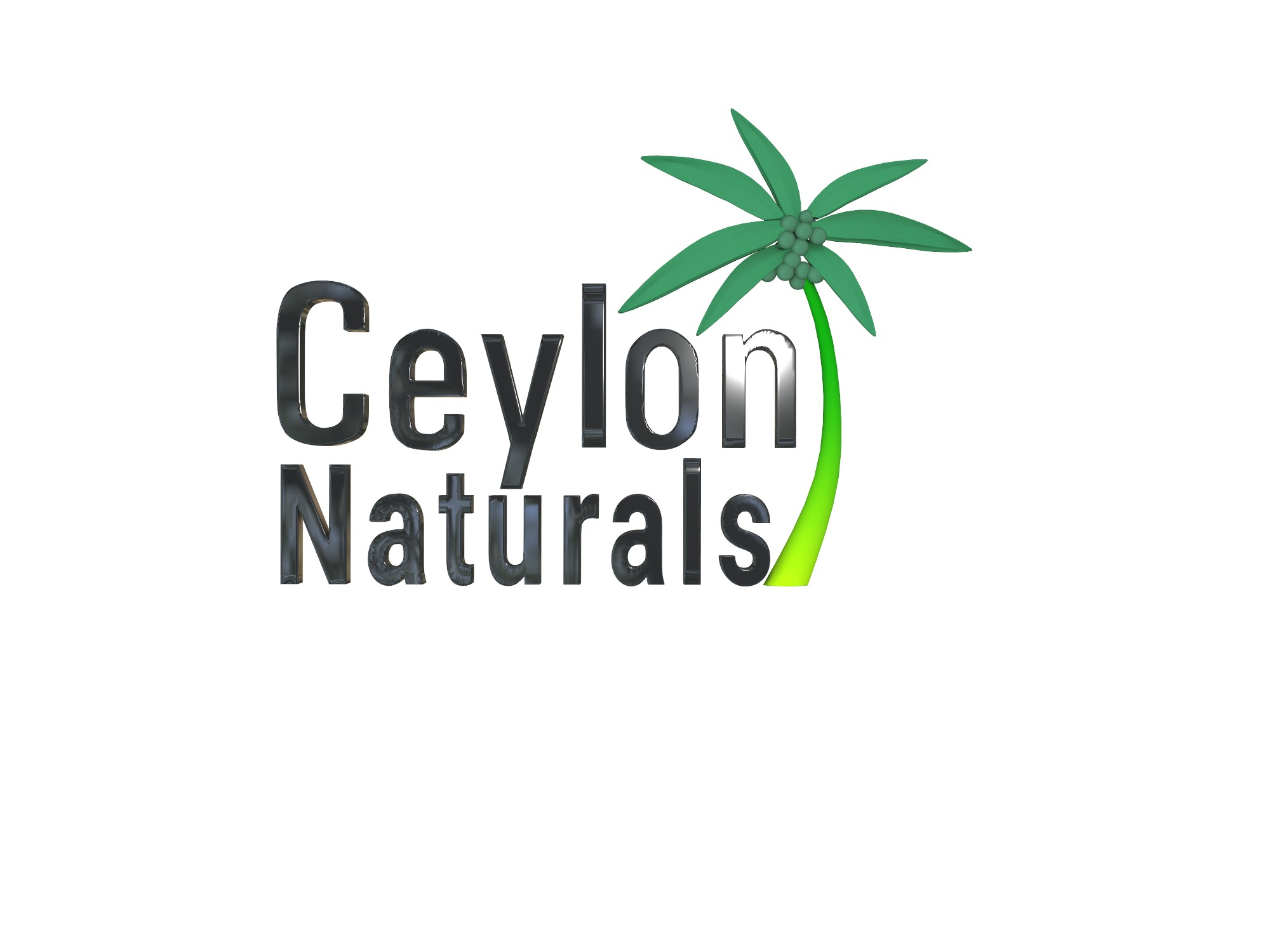 Ceylon natural logo - 3D design by Mohammed Rispic on Dec 11, 2018