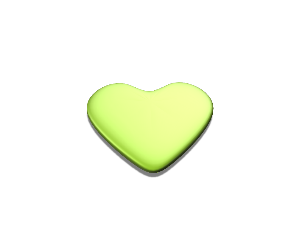 Heart - 3D design by email on Oct 1, 2017