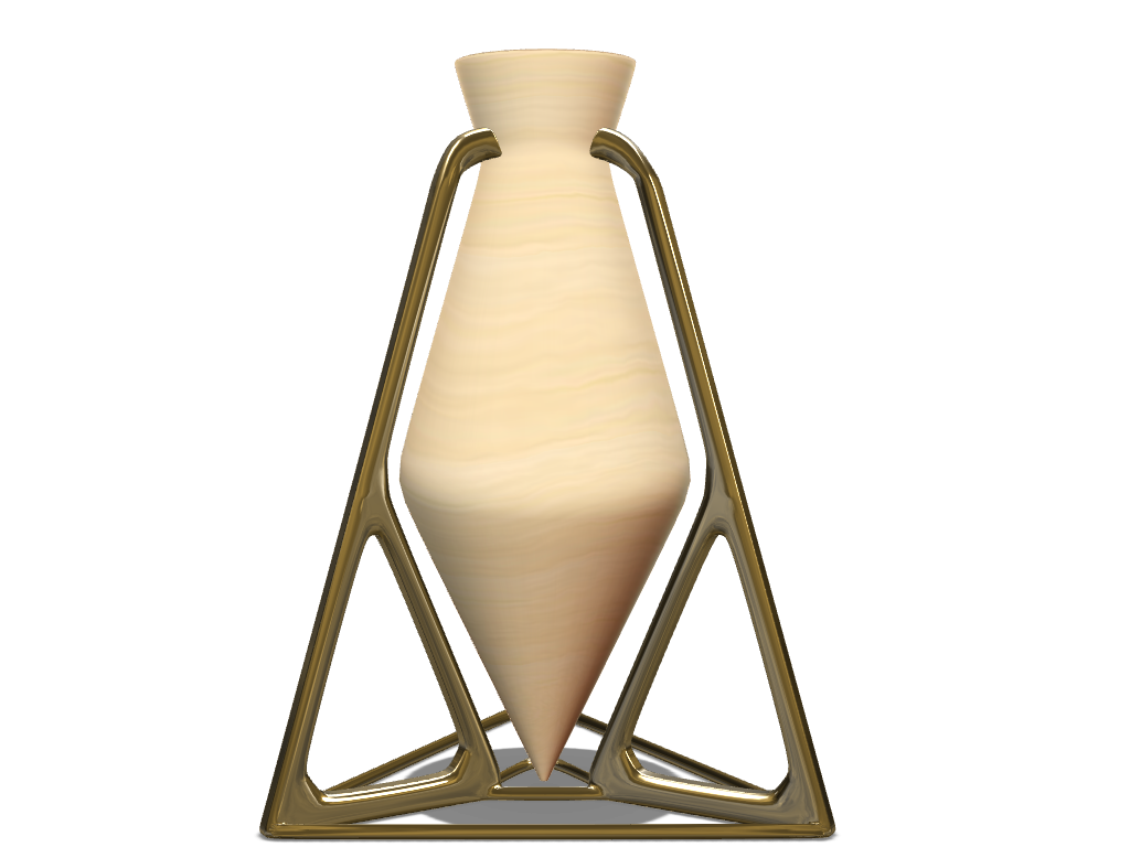 Gravity Vase - 3D design by Hendo Jordaan on Sep 17, 2017