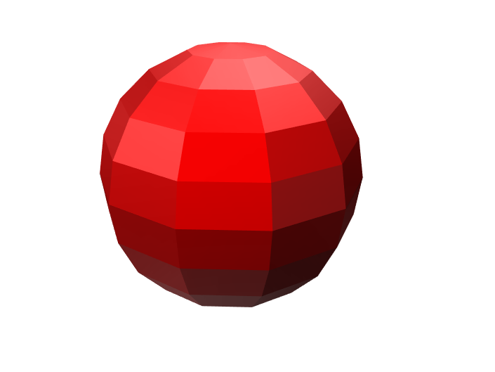 Cool Red Ball - 3D design by haydenwhitney13 Feb 23, 2018