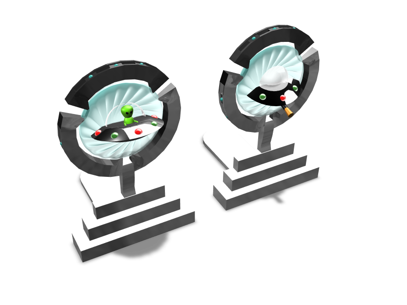 Portals Bookends - 3D design by Rei.T Sep 14, 2017