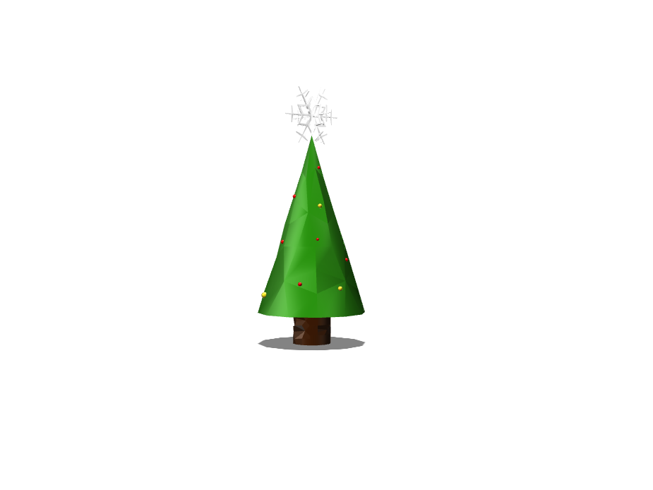 Christmas Tree - 3D design by hollandthomas663 Jan 9, 2018
