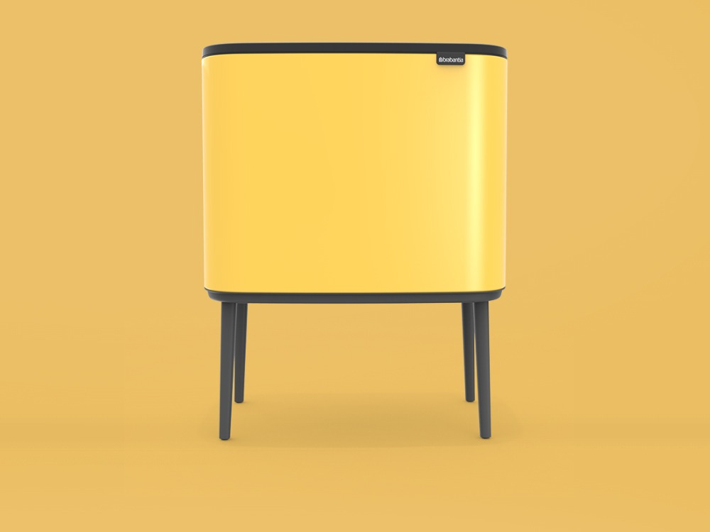 Bo Touch Bin - Daisy Yellow - 3D design by danny on Oct 7, 2018