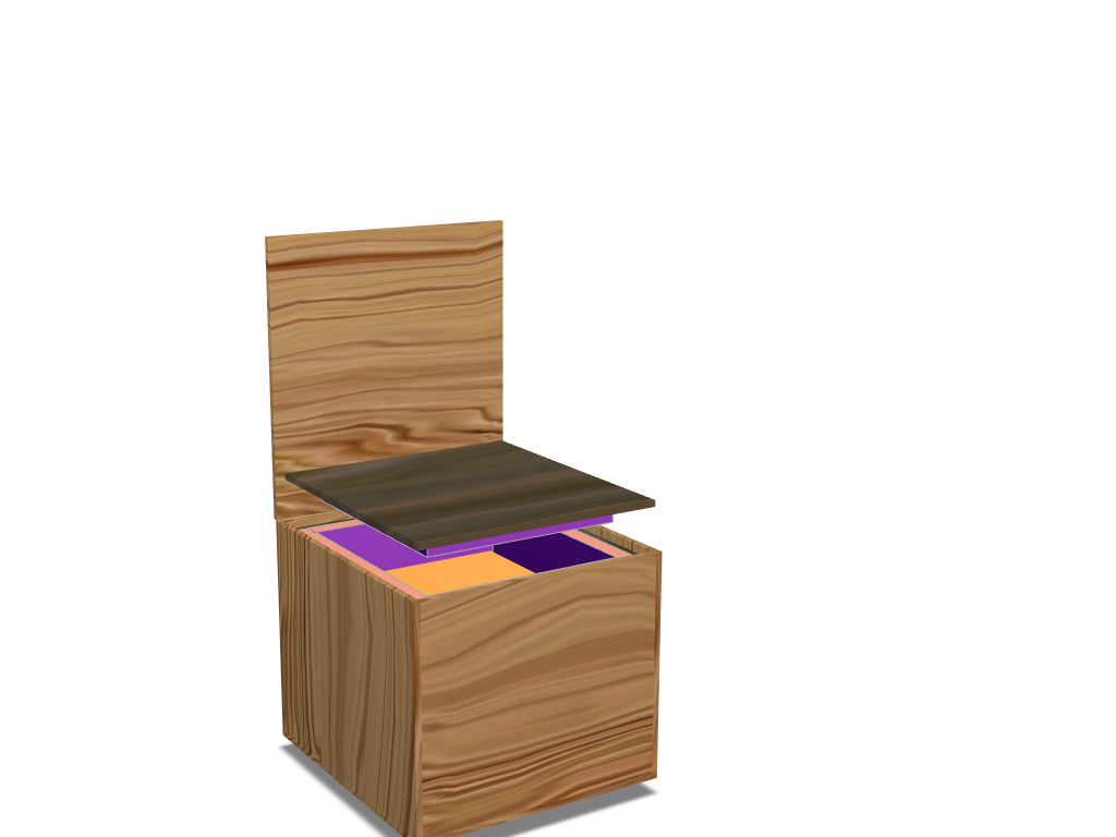 1x12 Guitar Cabinet Iso Box - 3D design by Caleb Watson Apr 1, 2018