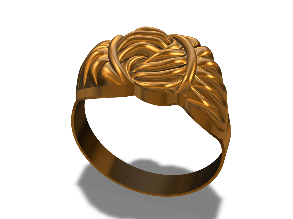 Gold Ring - 3D design by Cookie Dough Sep 23, 2017