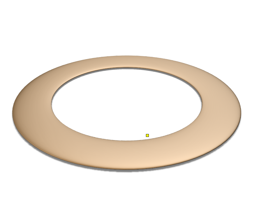 Saturn Ring - 3D design by Justin Thao Apr 10, 2018