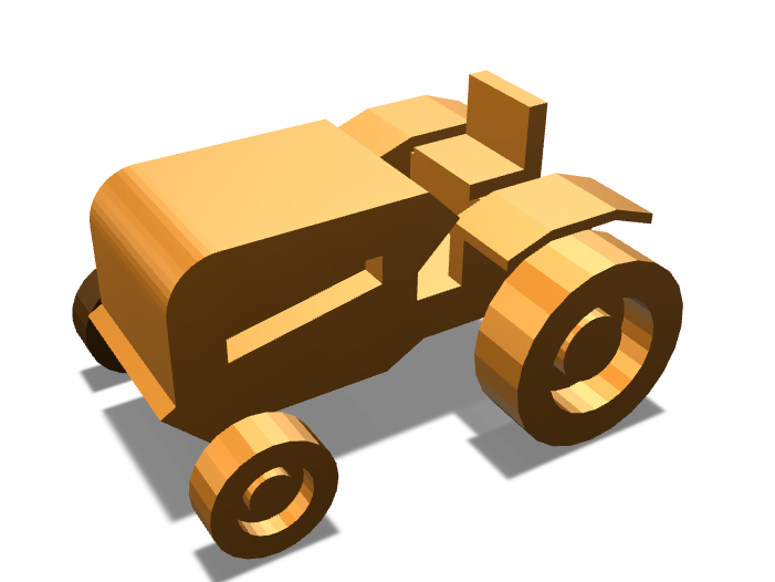 Tractor - 3D design by JMAntunes Nov 28, 2017