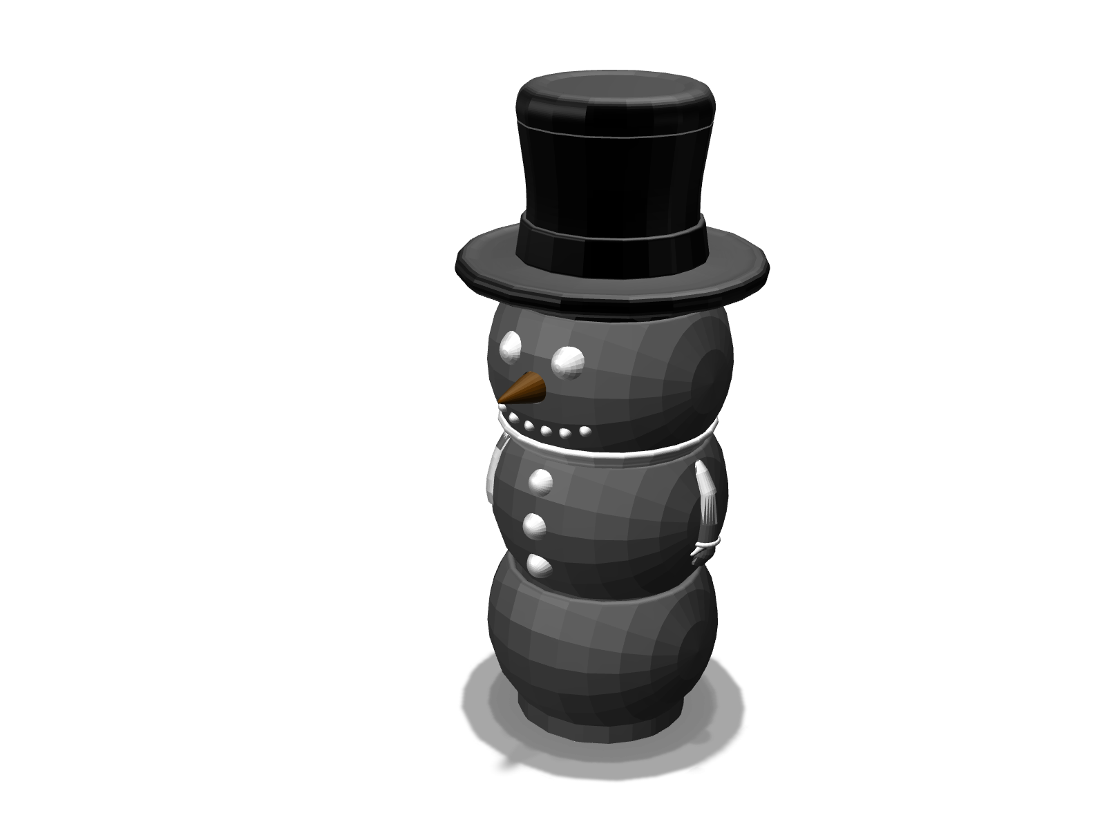 SNOW MAN MUGs - 3D design by jack.stone Dec 20, 2017