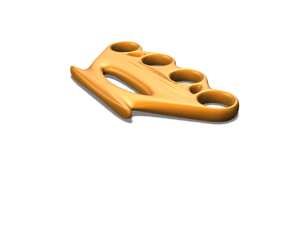 brass knuckets - 3D design by Madijs Feb 20, 2018
