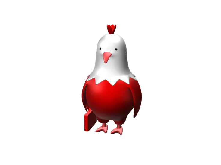 Mr. chicken but now is from Canada - 3D design by Hammerhit 36 on Nov 28, 2017