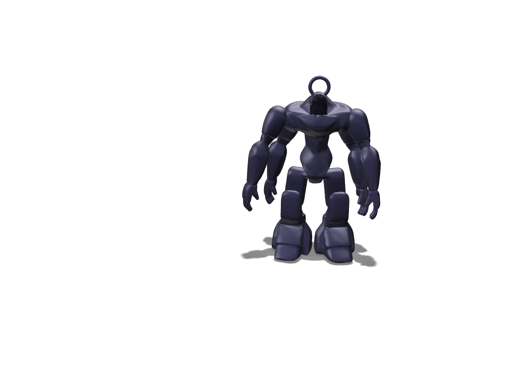 Robot - 3D design by Louis625 on Sep 14, 2017