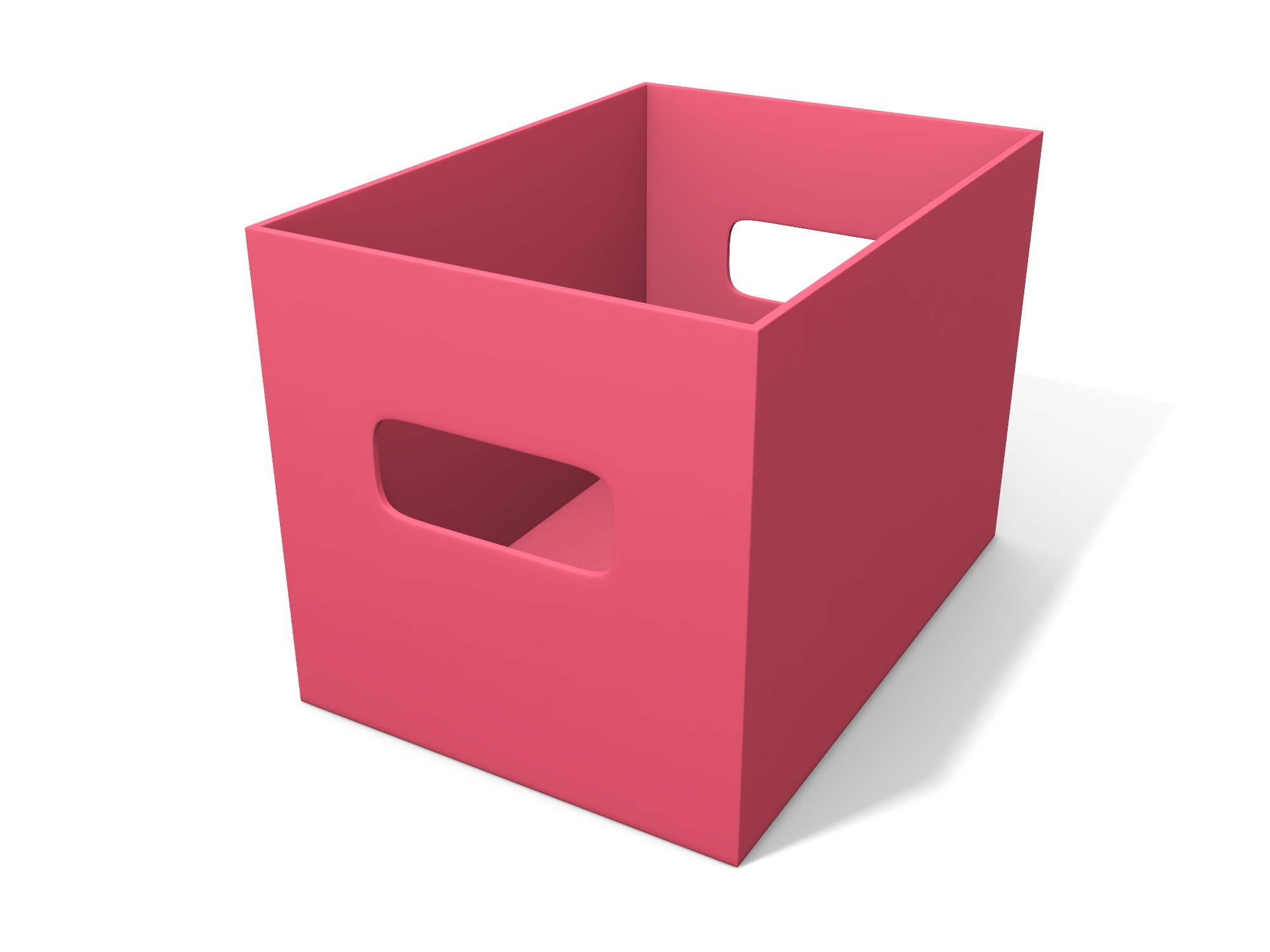 Box with handles 140 × 100 × 100 - 3D design by assets Nov 6, 2018