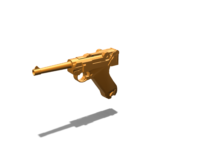 luger - 3D design by Rgames12 Oct 13, 2017