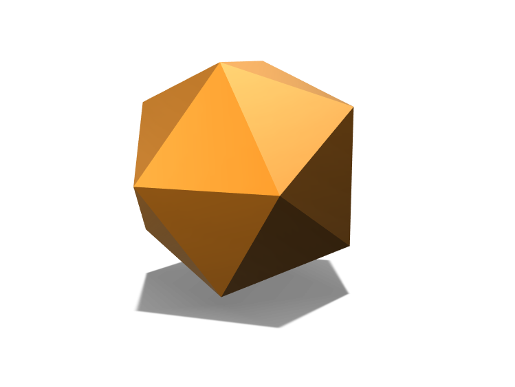 Isosahedron? - 3D design by Alexaos Apr 1, 2018