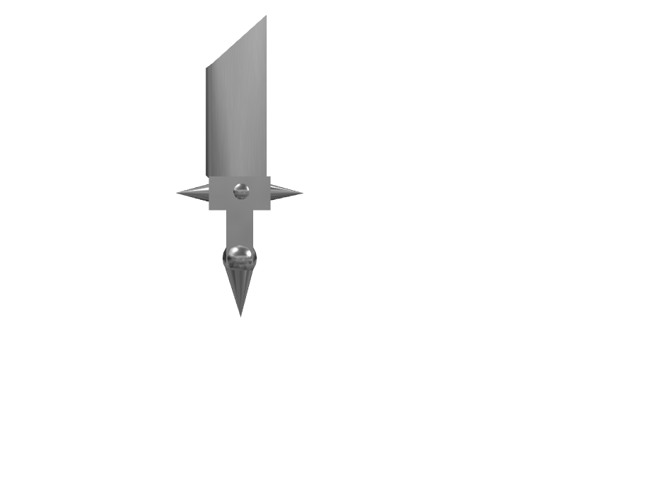 steel sword - 3D design by simon.harris on Jan 23, 2018