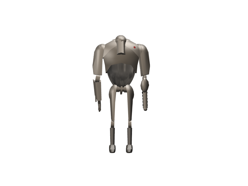 B2 Super battle droid - 3D design by sebastiandollybbb Oct 20, 2017