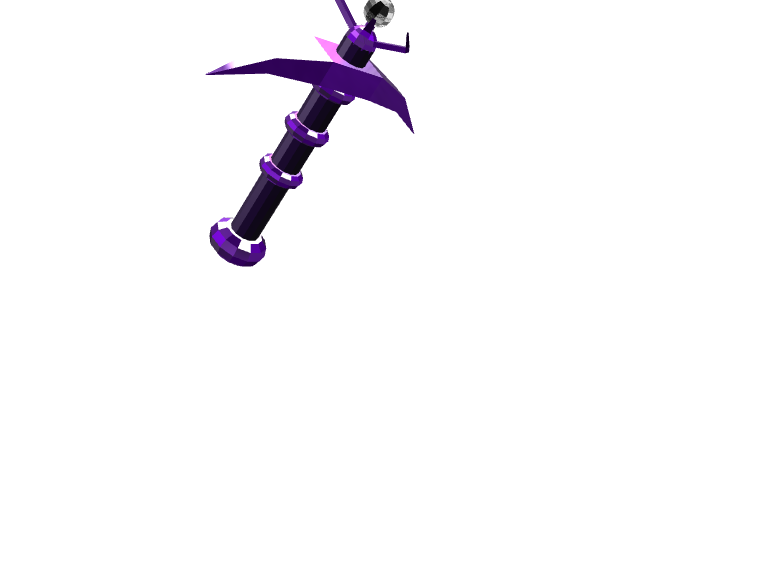 the nightmare picaxe - 3D design by wbfnitzj19 Dec 5, 2017