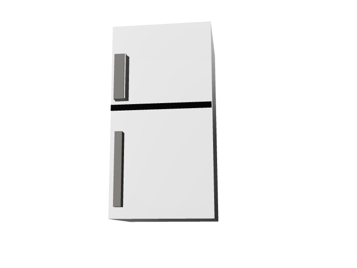 Fridge - 3D design by Dean Jul 8, 2017