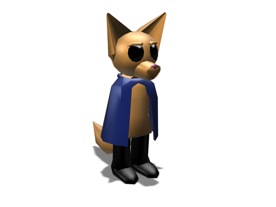 Lil' Fox Boy - 3D design by Alf Apr 27, 2018