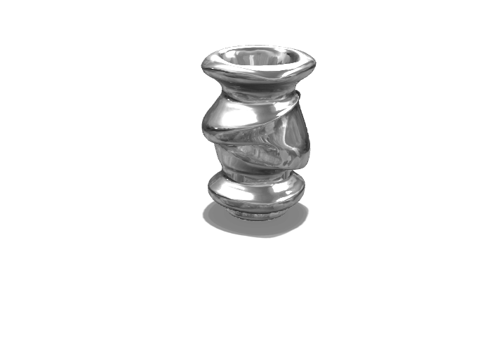 Abstract vase - 3D design by Theartist 2701 Sep 15, 2017