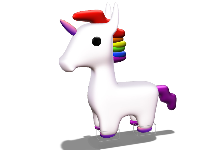 UNICORN V.2 (fanmade) - 3D design by 12293674 on May 8, 2018