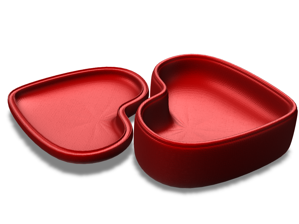 Heart love Case v.2 - 3D design by Lucyga Oct 13, 2017