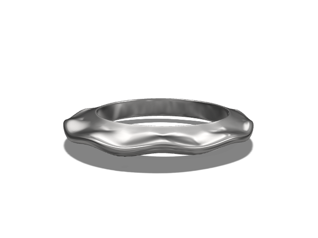 Wave Ring - 3D design by mr.rigra Aug 29, 2017
