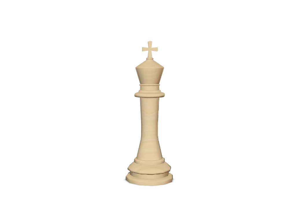 Chess - King - 3D design by Le Manh Cuong on Mar 3, 2018