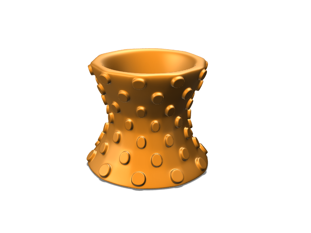 Polka-Vase - 3D design by cyrus Sep 5, 2017