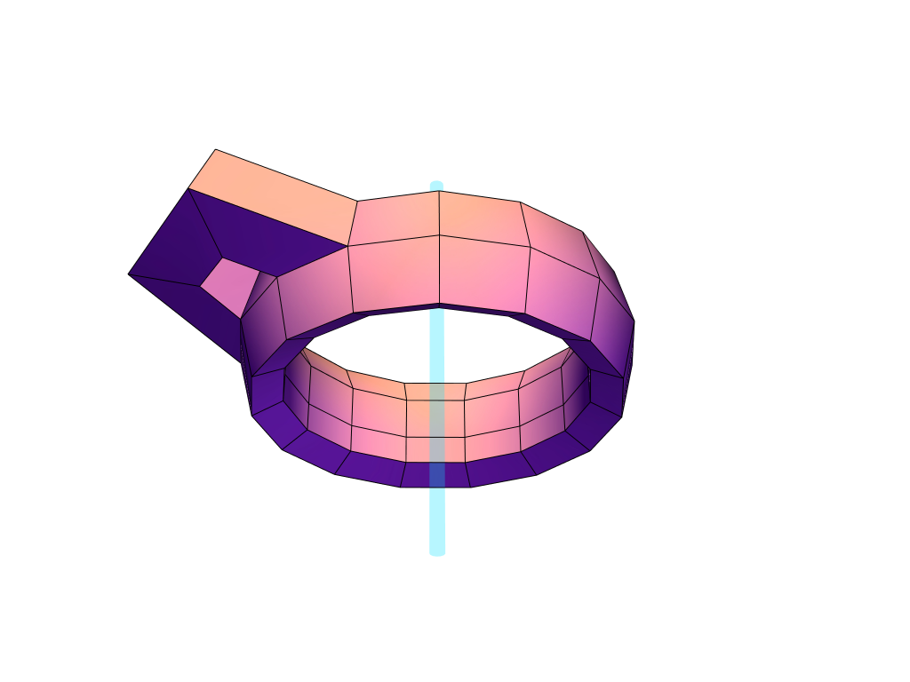Party Ring 2 - 3D design by ameighan Aug 19, 2017