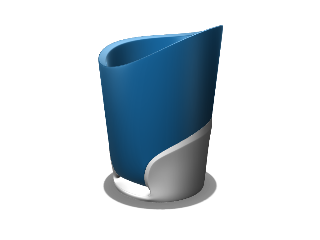 Toothbrush Cup - 3D design by Meshtush Sep 7, 2016