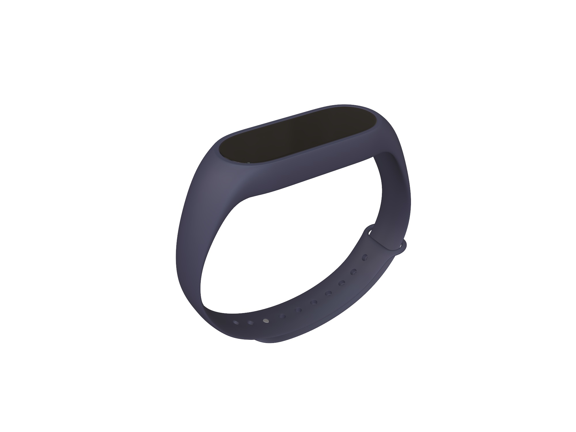 Fitness smartband - 3D design by Vectary assets Jun 3, 2018
