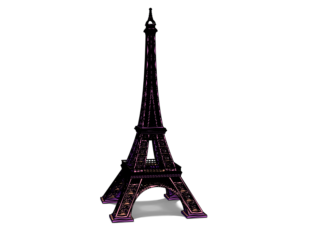 Eiffel Tower Test - 3D design by Nedelcho Kralev Mar 14, 2018
