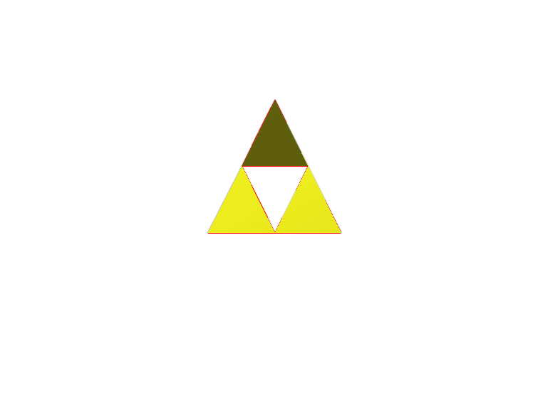 triforce - 3D design by 23cassius.zirbes Apr 19, 2018