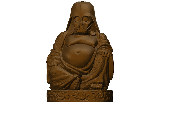 darth budda - 3D design by im3dmx Feb 28, 2018